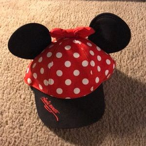 Minnie Mouse Ears Hat